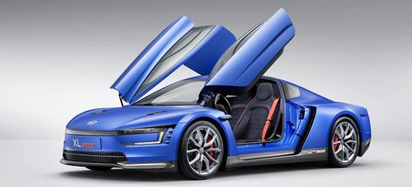 Cпорткар с двигателем от мотоцикла: Volkswagen XL Sport