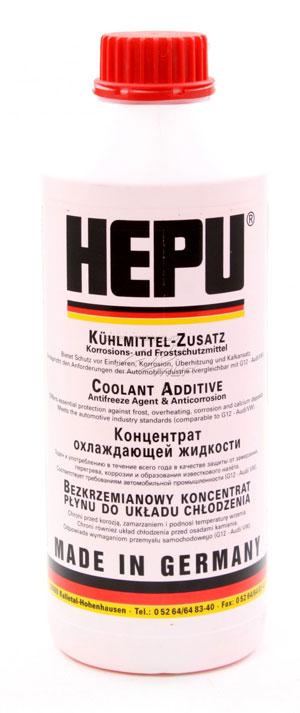 Красный антифриз HEPU P999-G12 (G12)